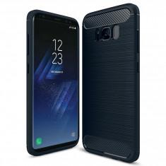 Husa SAMSUNG Galaxy S8 Plus - Carbon (Bleumarin)