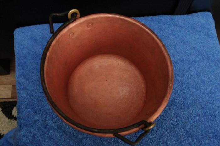 Ceaun cupru  5 Litri material gros