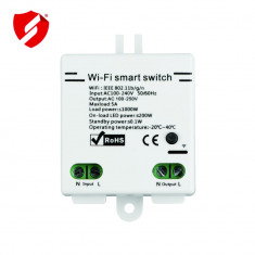Smart Switch - Releu wireless Wi Fi Canwing compatibil SonOff CW-001 CellPro Secure