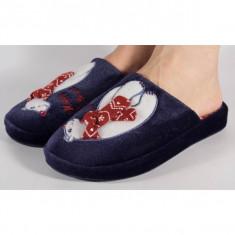 Papuci de casa bleumarini (cod 192-1801625)