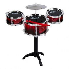 Set intrument muzical, model 3 tobe cu accesorii, jazz drum, 16×9 cm