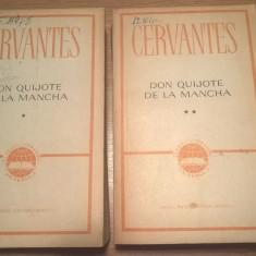 Cervantes - Don Quijote de la Mancha (2 volume), (ELU, 1965)