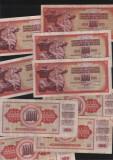 Iugoslavia Yugoslavia 100 dinari dinara 1986 F VF pret pe bucata