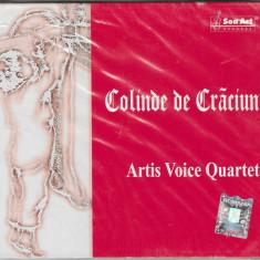 CD Artis Voice Quartet – Colinde De Craciun, original, holograma, SIGILAT