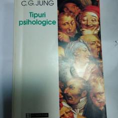 TIPURI PSIHOLOGICE - C.G.JUNG, Humanitas