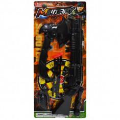 Set arme - pusca cu ventuze + barda + grenada