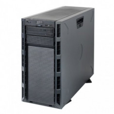 Server DELL PowerEdge T320 Tower, Procesor Intel Octa Core Xeon E5-2450L 1.8 GHz, 32 GB DDR3 ECC Reg, 2 x 1 TB SAS, DVD-ROM, Raid Controller SAS/SAT