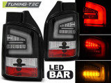 Stopuri LED compatibile cu VW T5 04.10-15 Negru LED BAR