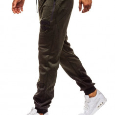 Pantaloni de trening bărbați verde Bolf HM008