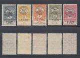 ROMANIA 1919 - EMISIUNEA CLUJ ORADEA  - INUNDATIA 5 MARCI MNH