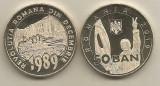 ROMANIA  50  BANI  2019  -  UNC  din fisic -  30 ANI  de  la  REVOLUTIA ROMANA