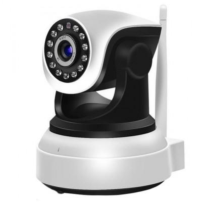 Camera de Supraveghere Interior IP Wireless Techstar® RL-22 Pan / Tilt HD 720P Leduri Infrarosu IoS si Android foto