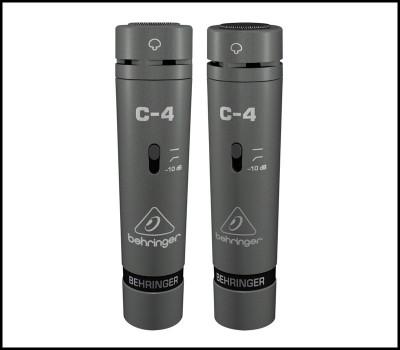 C4-Set Microfoane cu fir condensator | Behringer foto
