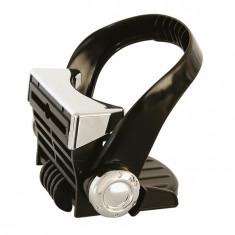 Suport auto Carpoint pentru pahar, fixare la ventilatie, negru silver, 1 buc.