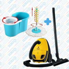 Set curățenie Aspirator HEINNER + Mop Rotativ
