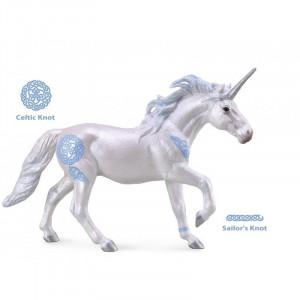 Figurina Unicorn armasar Collecta, 17 cm, 3 ani+