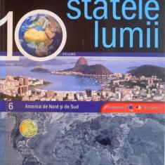 MAREA ENCICLOPEDIE, STATELE LUMII, VOL. 6 AMERICA DE NORD SI DE SUD, 2009