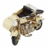 Macheta de birou, motocicleta cu atas, Meli Melo