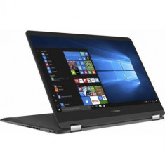 Laptop 2-in-1 ASUS ZenBook Flip S UX370UA-C4219T, Intel Core i7-8550U, RAM 8GB, SSD 256GB, Intel UHD Graphics 620, Windows 10, 13.3inch Touch, Smoke G