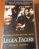 LEGEA TACERII - FILM CASETA VIDEO VHS