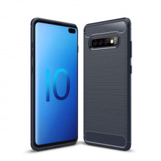 Husa SAMSUNG Galaxy S10 Plus - Carbon (Bleumarin) FORCELL
