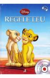 carte vintage povesti copii 2013,REGELE LEU,DISNEY,Ed.LITERA MICA,T.GRATUIT