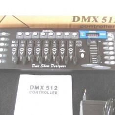 Controller DMX 512 disco,Controller efecte lumini,DMX cu 192 canale
