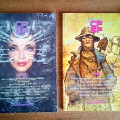 Colectia de povestiri stiintifico - fantastice,  2 numere (18 si 28)
