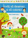 DeAgostini Invat sa desenez si sa colorez Anotimpuri/***