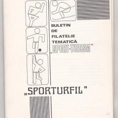 bnk fil Sporturfil - buletin de filatelie tematica  nr 3/1990