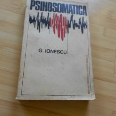 G. IONESCU--PSIHOSOMATICA  - 1975