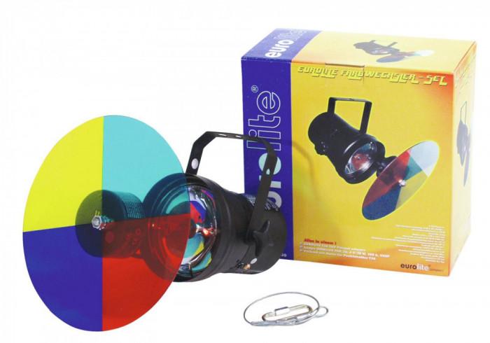 Set party Eurolite Color-Changer-Set + PAR-36 Pinspot