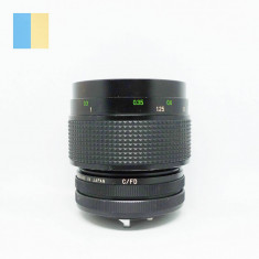 Obiectiv Vivitar 55mm f/2.8 Auto Macro montura Canon FD