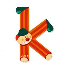 Litera K, de lemn, Janod