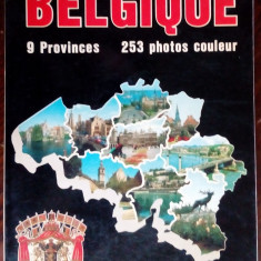 (BELGIA) BELGIQUE: 9 PROVINCES / 253 PHOTOS COULEUR (BRUXELLES 1988/LB FRANCEZA)