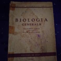 Manual biologie 1950
