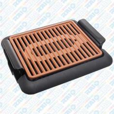 Grătar electric din aluminiu cu strat ceramic și termostat reglabil, Hausberg, 1250 W