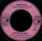 """Village People - Can't Stop The Music (1980, Metronome) Disc vinil single 7"""""""