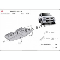 Scut metalic cutie + diferential Mitsubishi Pajero 4 IV fabricat incepand cu 2007 APS-00,099