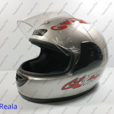 Casca Protectie Moto Scuter - ATV - L ( gri )