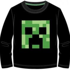 Bluza Minecraft ORIGINAL Creeper LOGO 5-12 ani + Bratara CADOU !!
