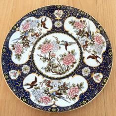 Farfurie - decorativa / de colectie - portelan Japonia foto