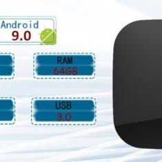 Q Plus Smart TV Box Android 9.0  4GB Ram 64GB Rom