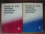 STUDIA ET ACTA HISTORIAE IUDAEORUM ROMANIAE (2 volume)