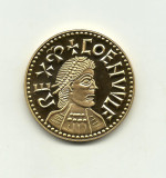 Marea Britanie COENWULF GOLD PENNY  - Millionaires Collection Placata Aur