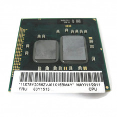79.Procesor laptop INTEL|Lenovo FRU 63Y1513 |SLBU3 Intel Core i5-520m 2.40 Ghz