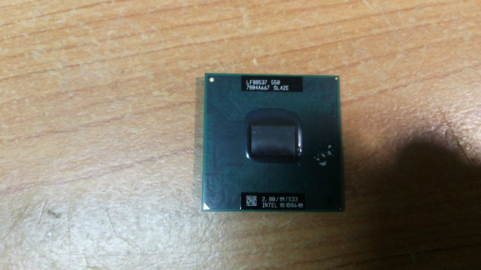 CPU Laptop Intel CELERON MOBILE 550 SLA2E 2GHz SOCKEL P