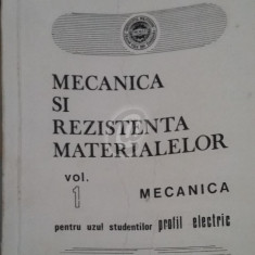 Mecanica si rezistenta materialelor, vol. 1, 2
