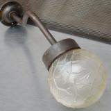Cumpara ieftin FELINAR / LAMPA DE EXTERIOR - CADRU DE FONTA SI GLOB DE STICLA - ELBA TIMISOARA