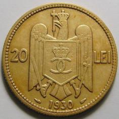 Romania, 20 lei 1930_stare buna spre foarte buna * cod 136